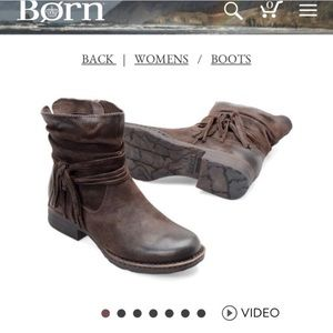 Born boots size 8